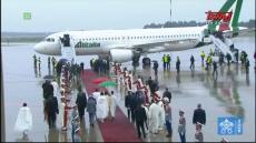 Franciszek w Maroku: Oficjalne powitanie