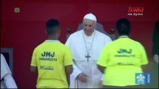 Papież Franciszek w Panamie: Wizyta w Hogar Del Buen Samaritano