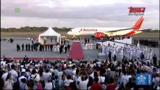 Papież Franciszek w Panamie: Ceremonia pożegnania
