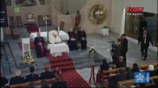 Franciszek w Macedonii Północnej: Spotkanie z kapłanami