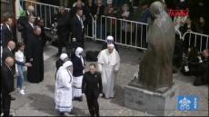 Franciszek w Macedonii Północnej: Wizyta przy pomniku Matki Teresy