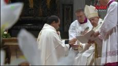 Msza Święta z Bazyliki Watykańskiej z udzieleniem święceń kapłańskich