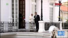 Papież Franciszek w Panamie: Uroczystość powitalna