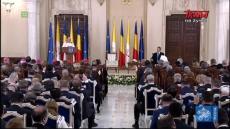 Franciszek w Rumunii: Spotkanie z władzami, przedstawicielami społeczeństwa i korpusem dyplomatycznym